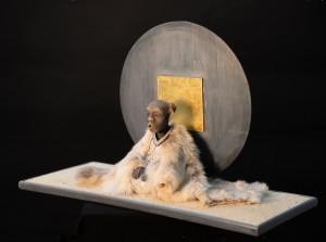 Meditative figure 1