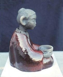 Meditative figure 5