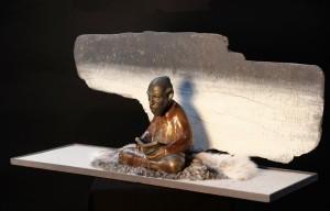 Meditative figure 6
