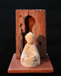 Meditative figure 7