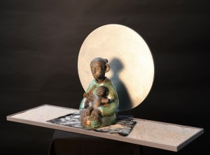 Meditative figure 9